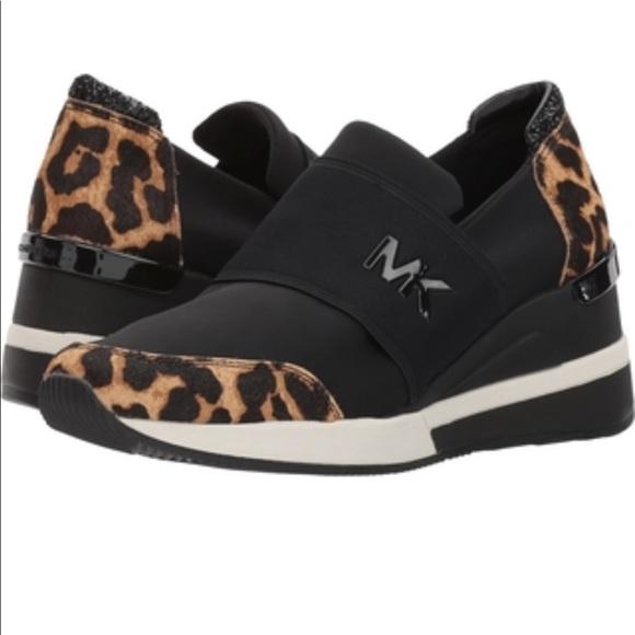 8745c92f4f0 Michael Kors wedge Sneaker
